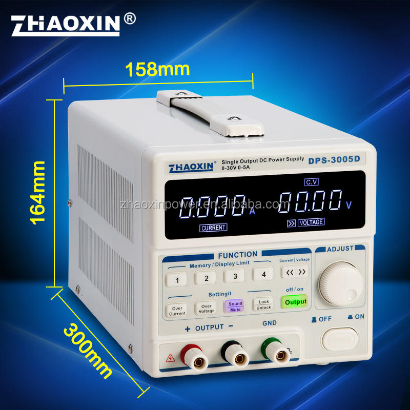 Zhaoxin DPS-3005D Enkele uitgang programmeerbare lineaire dc voeding