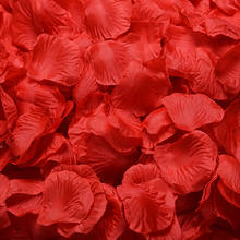Factory price Real touch artificial silk rose petals for wedding