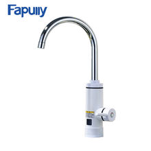Fapully electric hot tankless water heater mixer tap/bathroom basin electric heater faucet