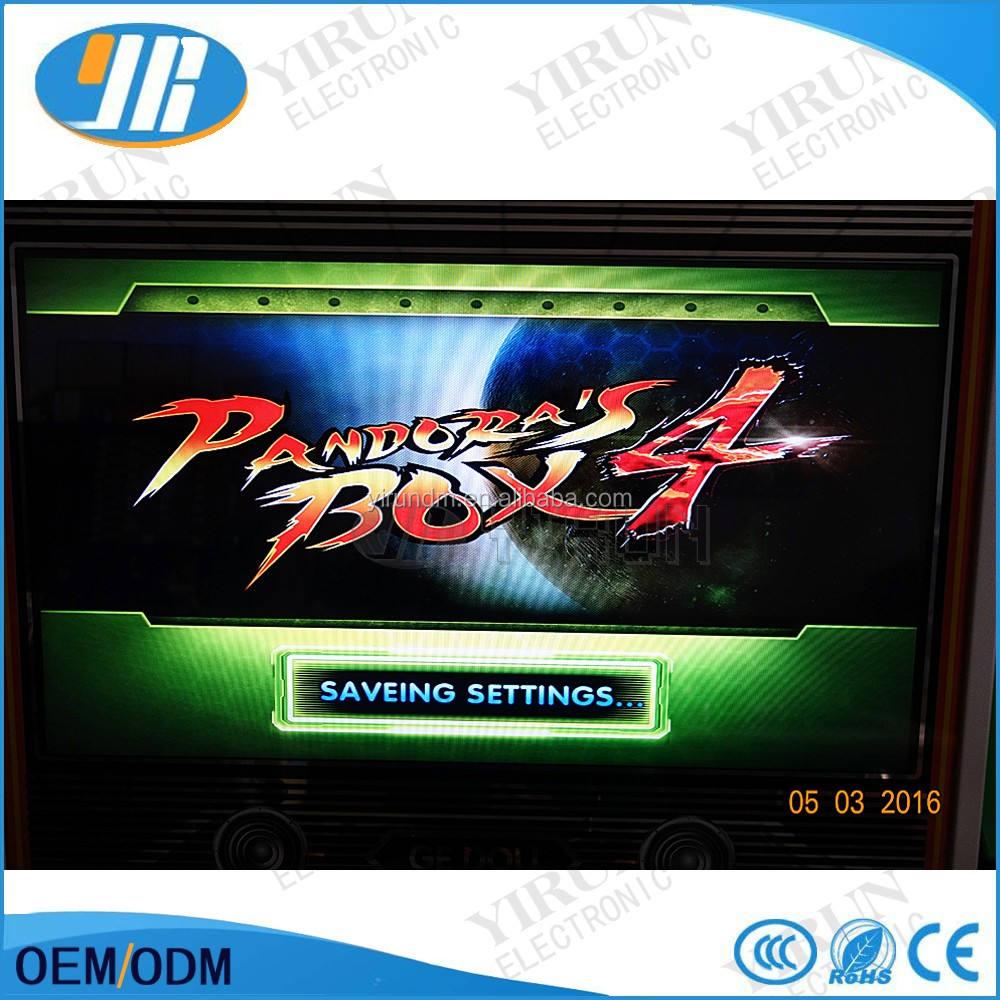 Caja de Pandora <span class=keywords><strong>4</strong></span> VGA/salida CGA para <span class=keywords><strong>CRT</strong></span>/LCD 645 en 1 tablero del juego de arcade bundle video arcade jamma