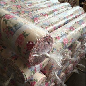 cheap100 polyester brushed printed bed sheet fabric for home textile in rolls
