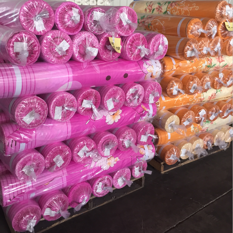 Polyester disperse printing Microfiber fabric for bedding bedsheets 100 polyester woven Fabric