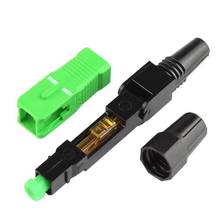 Hot Sale Embedded SC/LC APC/UPC Fast Connector Single Mode Multi Mode Fiber