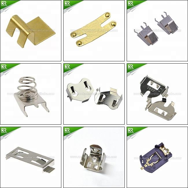Alternative BK-913 THM Phosphor Bronze Cr2025 Cr2020 Cr2032 Coin Cell Battery Holders With Pc Pins