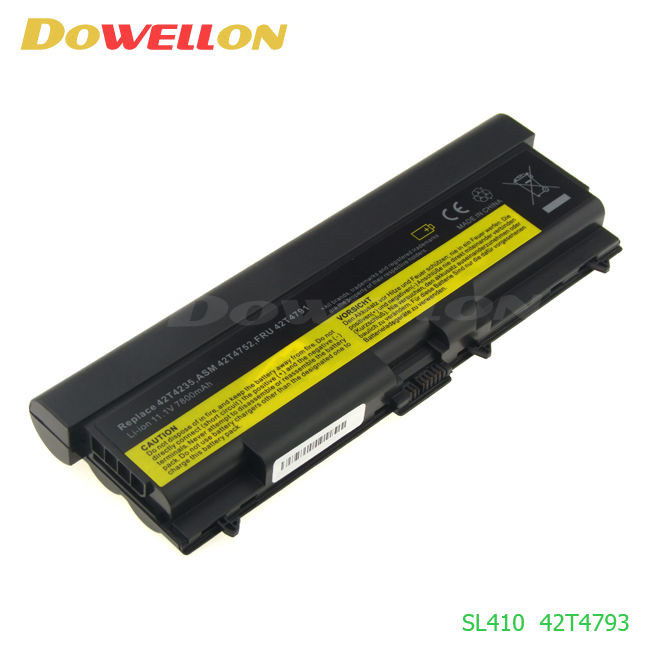 Produce all kinds of Generic Laptop Battery for Thinkpad SL410 SL510 T410i T510i T520i 6600mAh 9 cells