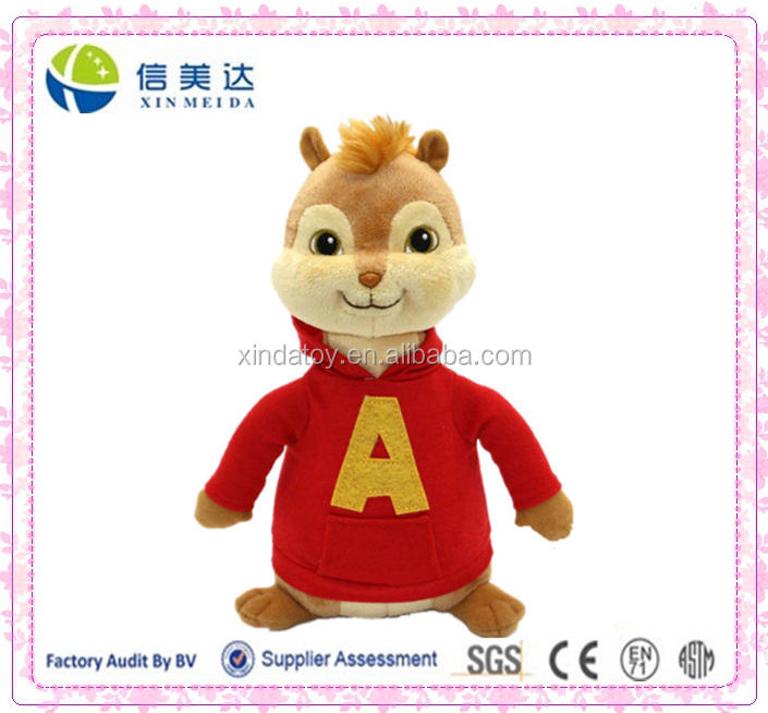 16 CM Movie Alvin And The Chipmunks Alvin Morbido Peluche Giocattoli 2016 Bambino Regalo Di Natale