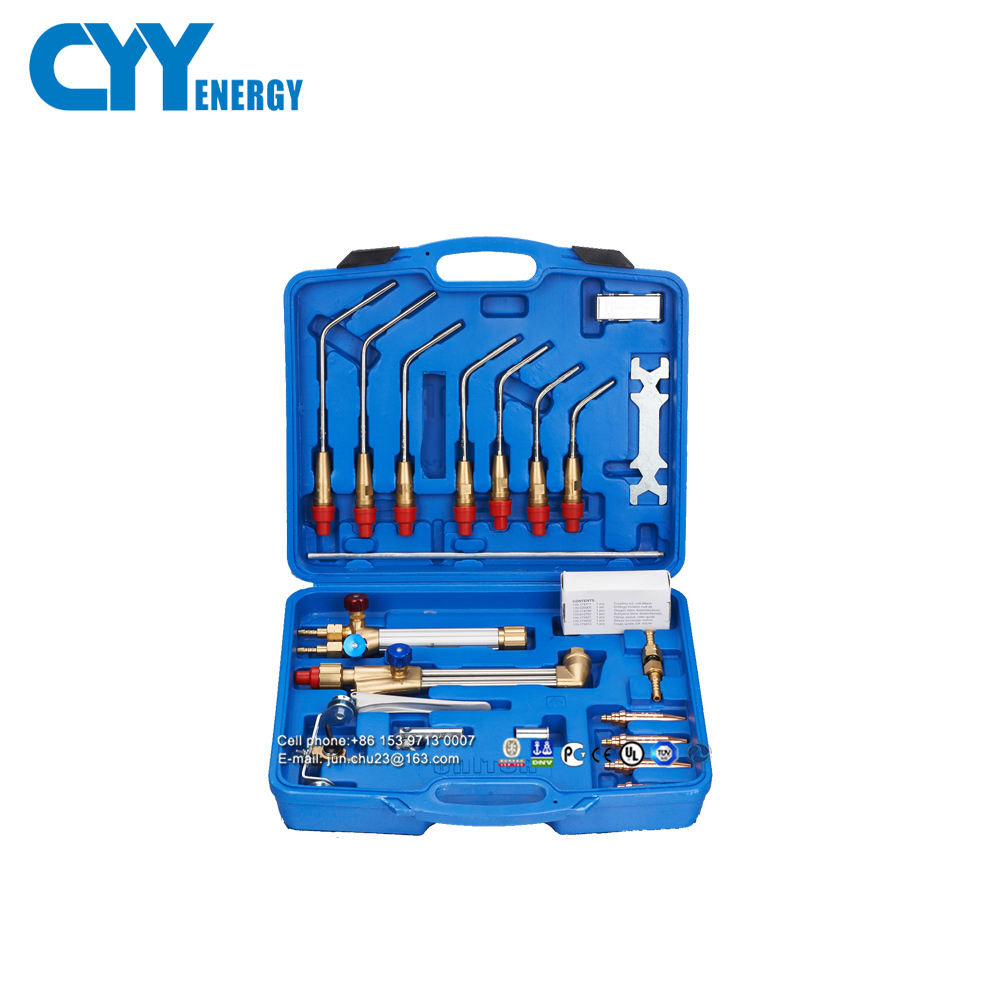 CYY Energy Portable Heavy Duty Welding Tool Kit with Plastic Tool Box