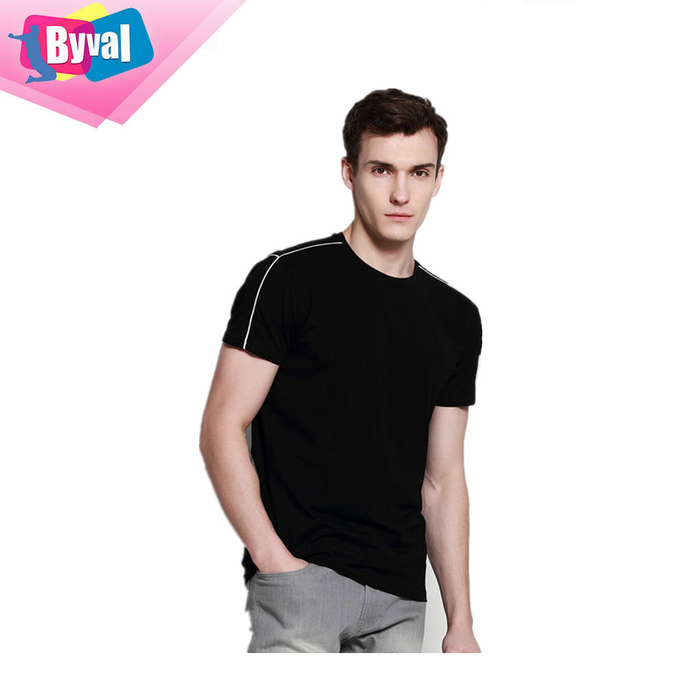 athletic apparel manufacturers clothes bulk plain t shirts 100% cotton short / long sleeve underwears men t shirt customized oem