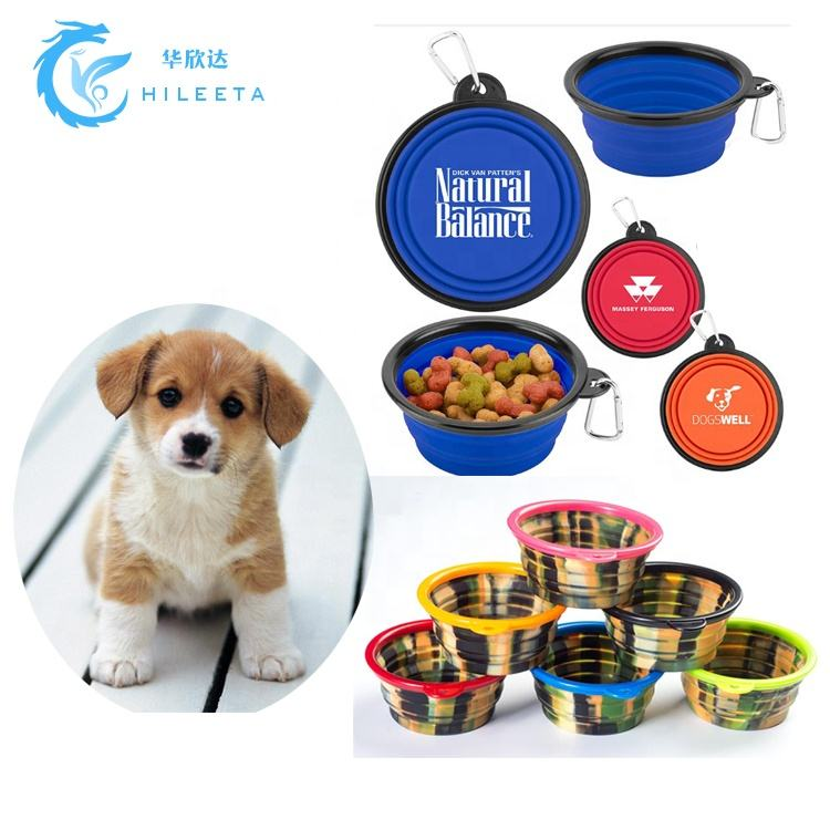 Professional Manufacturer OEM ODM Available silicone dog bowl pet folding bowl