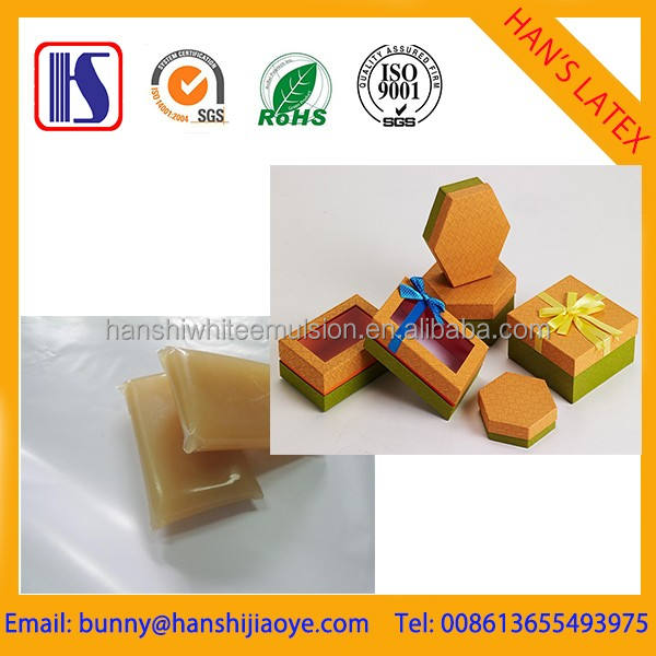 Han's Environmental protection hot melt good quality jelly glue Industrial Bone Glue Used For Match