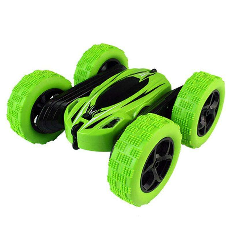2019 New JJRC D828 RC Stunt Car 2.4Ghz 360 Degree Roate Spinning Action Remote Control R/C Car Double Side Roll for Children Toy