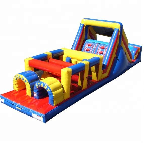 Guangzhou OHO commercial obstacle course inflatable sports games for adults