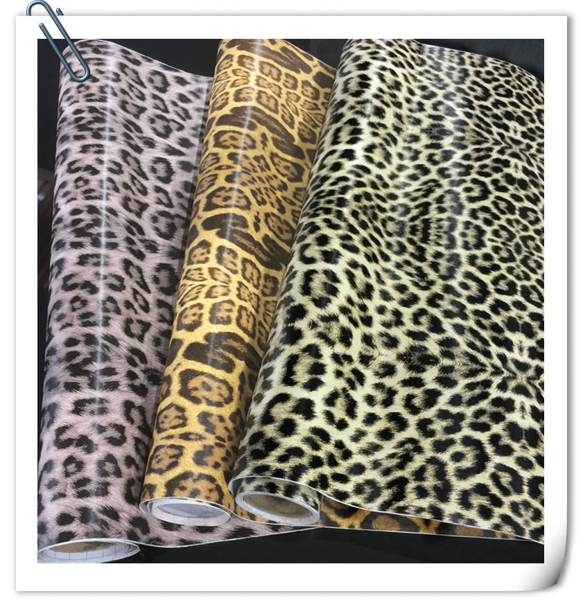 Leopard Print Self Adhesive Home Decoration PVC Wall Film