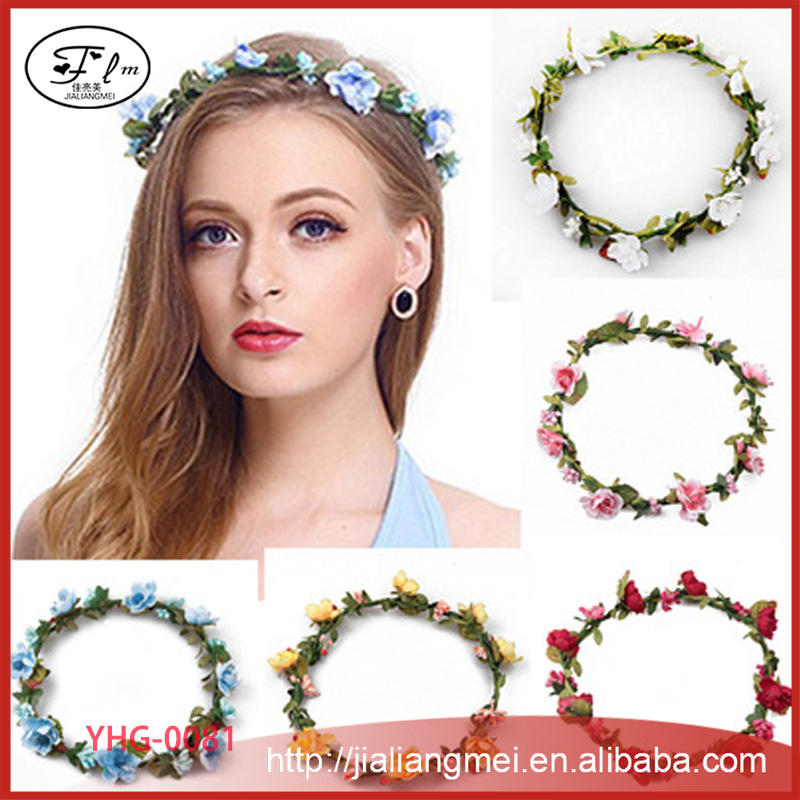 ebay hot fashion bridesmaid bride wedding hair jewelry holiday wreath