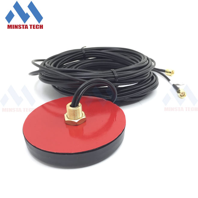 GPS GSM GPRS Combo/Combination Screw Mount Puck Antenna