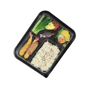 Usa e getta di plastica di vendita calda asporto bento lunch box
