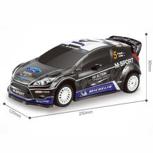 Scale 1:16 4CH R/C PVC M-SPORT FORD FIESTA RS WRC RC Drift Car