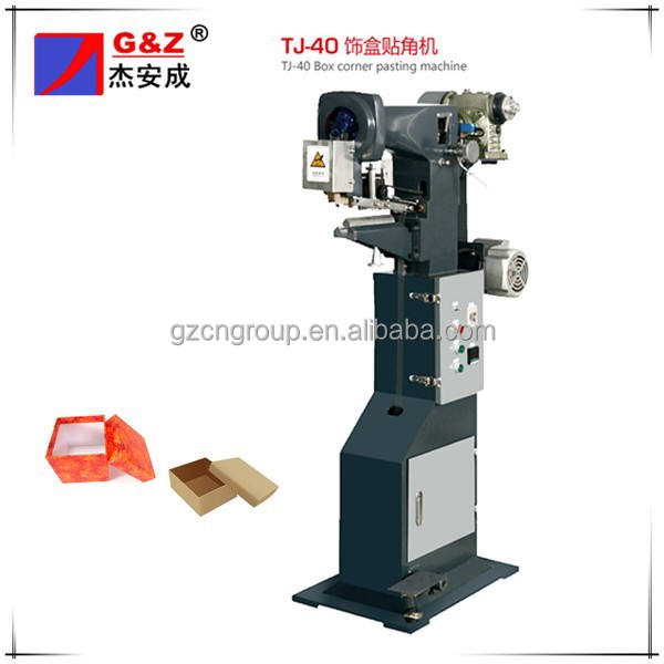 Paper Box Corner Pasting(Angle Gluing) Machine(Single Angle)