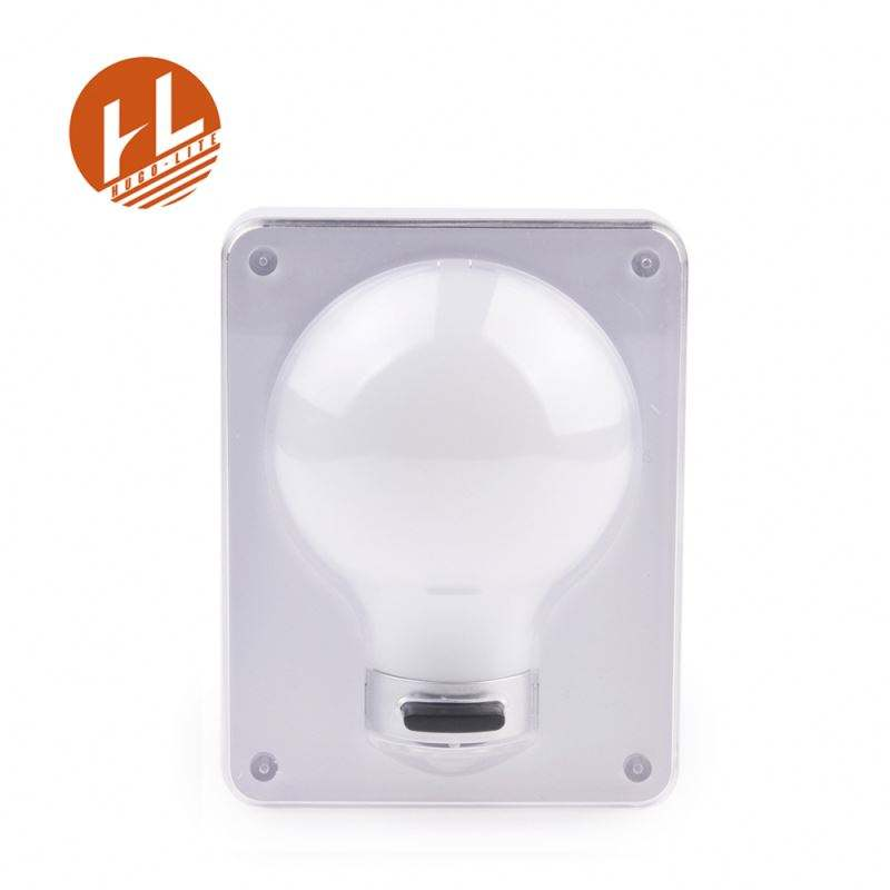 Contacto de seguridad placa cubierta decorativa de luz Led interruptor de pared