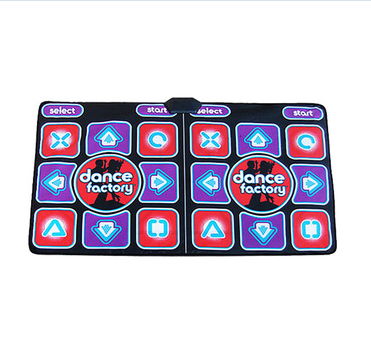 2 Person USB Light Up Double Dance Floor Mat for Adult
