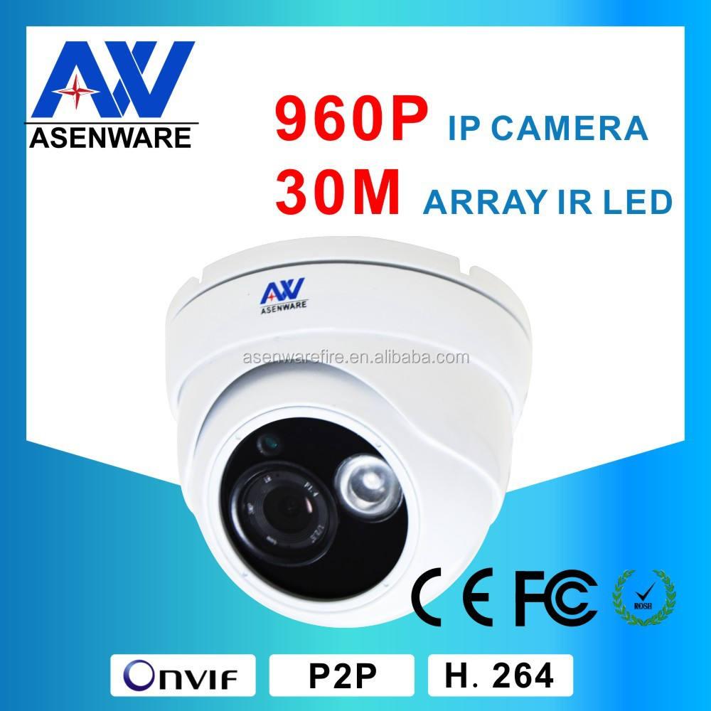 """Intérieure <span class=keywords><strong>Onvif</strong></span> <span class=keywords><strong>caméra</strong></span> 1.3MP 960 P 1/3 """" Cmos haute définition caméras de sécurité d'installation"""