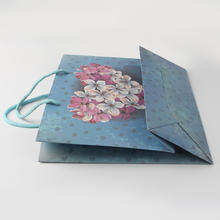 New Product Paper Material Paper Shopping Bag with Logo Print