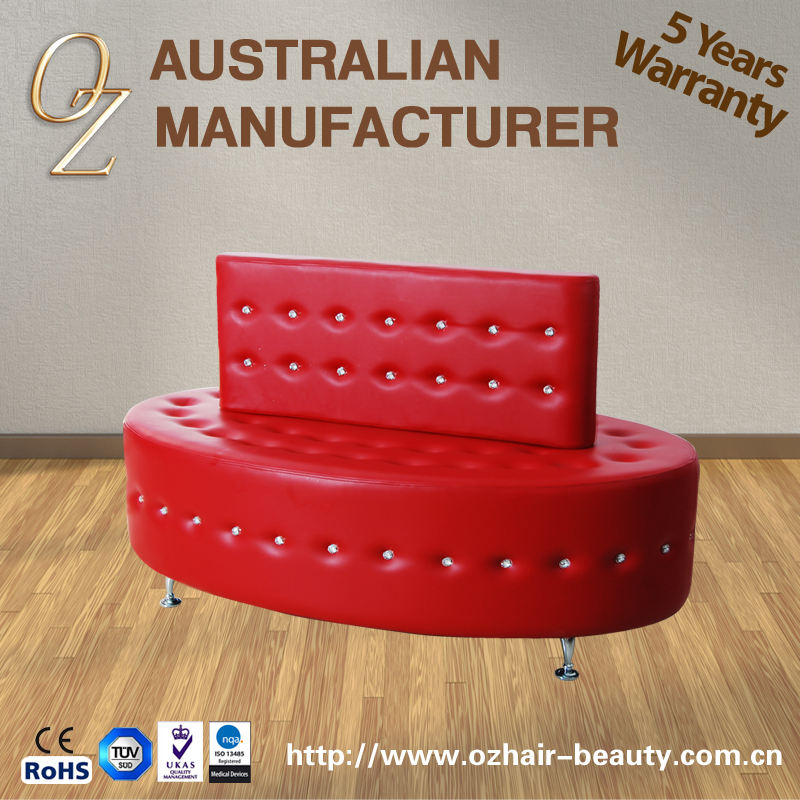 Salon Furniture Waiting Bench Reception Sofa For Waiting Room Airport Reception Area Waiting Sofa