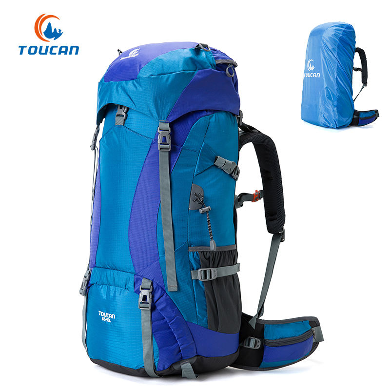 70L Large Waterproof Travel Hiking Bag Camping Backpack Factory Directed