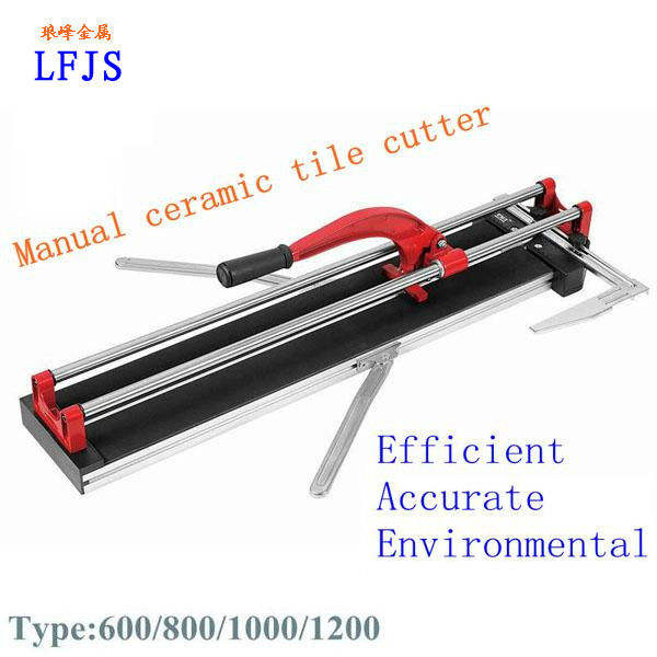 Tile cutter machine (applied in cutting various of Internal and external floor tiles)