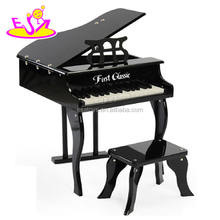 New wooden toy piano, popular wooden piano toy and hot sale children wooden toy piano with factory price W07C014