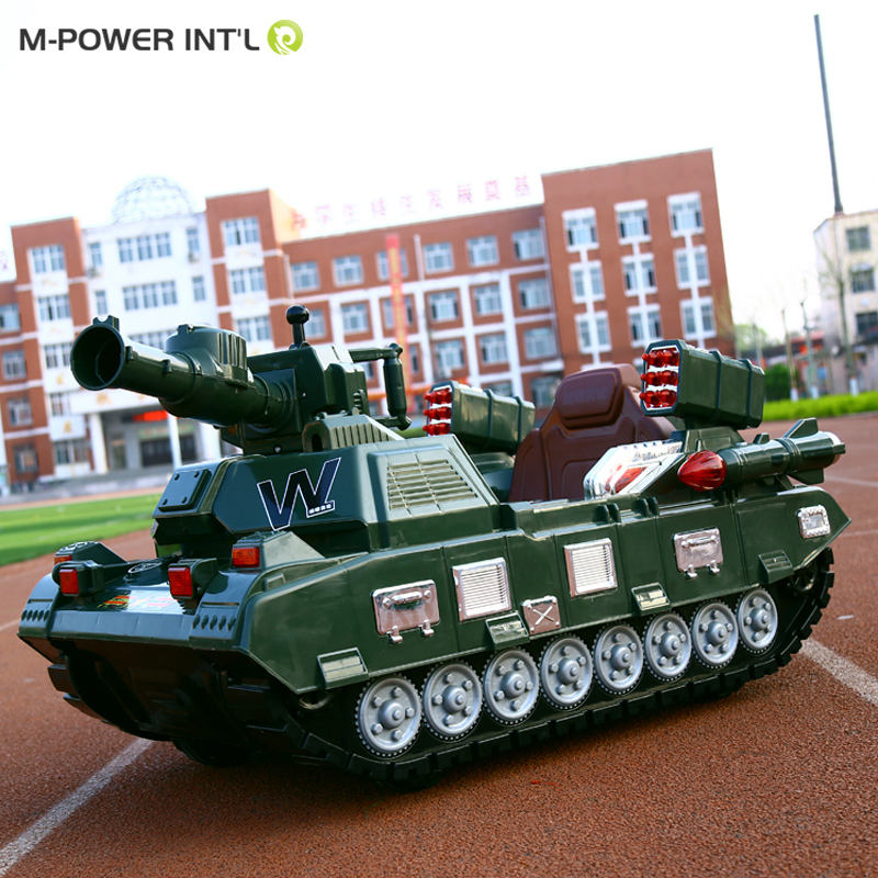 New modle Good Gift for Kids Mini child electric inductive Military Tank Magic Tank Car Toys Tank ride on car