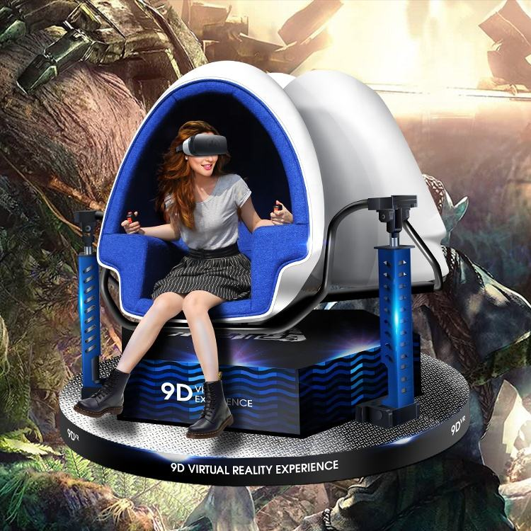 Impressive feeling realistic dinosaur 9d movies 9d play station vr simulator