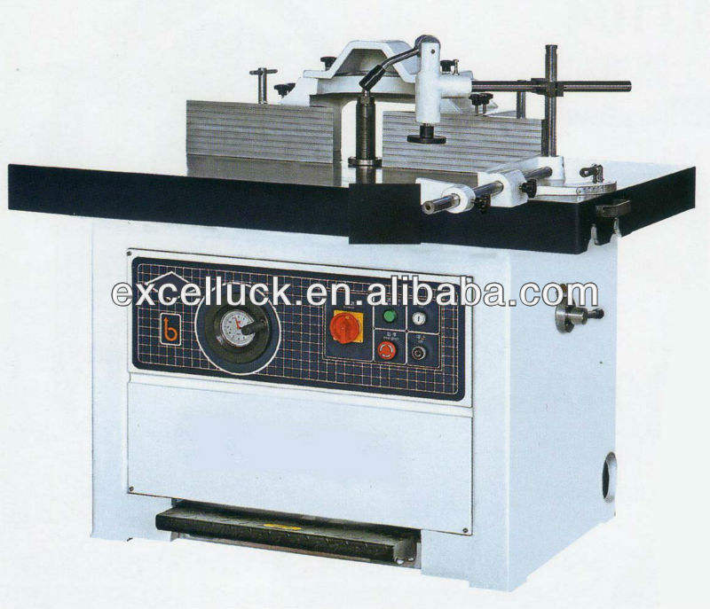 Table sliding wood milling shaper machine