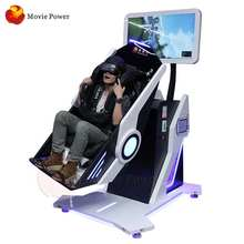 Hot Selling Vr Amusement Park Equipment Crazy Thrilled 360 Vr Cinema Rotating 720 Degrees Flight Simulator
