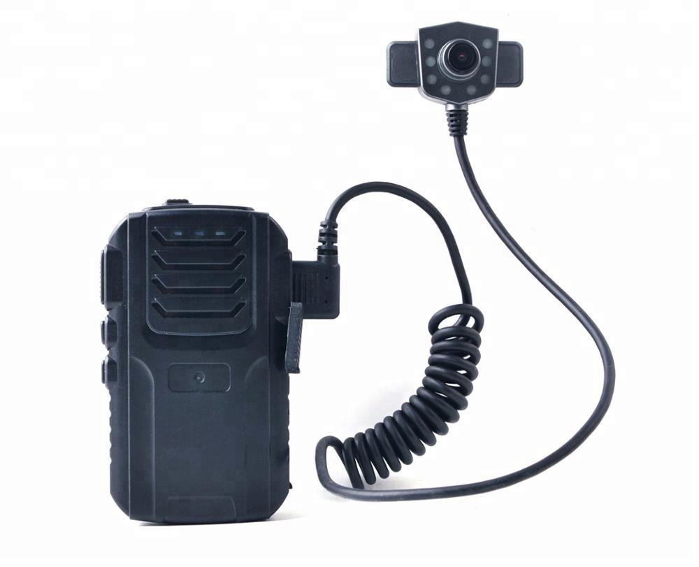 Built-in 3G 4G WiFi GPS High quality police body worn video camera