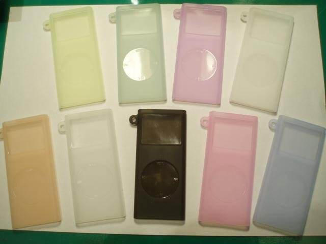 Silicone Skin Case For IPod Nano 2nd Generation
