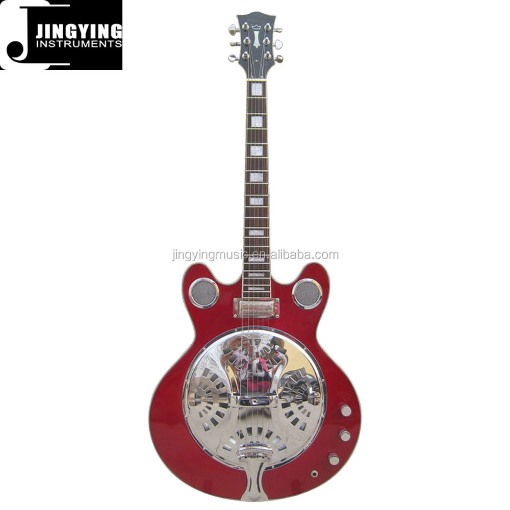 Wholesale Professional Best Selling Products Acoustic Electric Resonator Guitar with free Strings