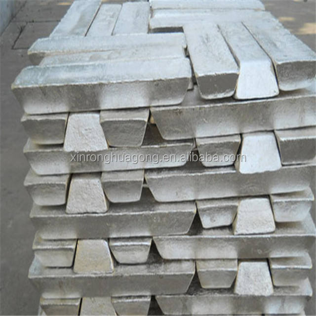Top quality Factory manufacturer of Aluminum alloy ingots 99.7% ADC 12