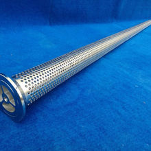 API 5CT Stainless Steel 304 Perforated drill pipe screen (manufacture)