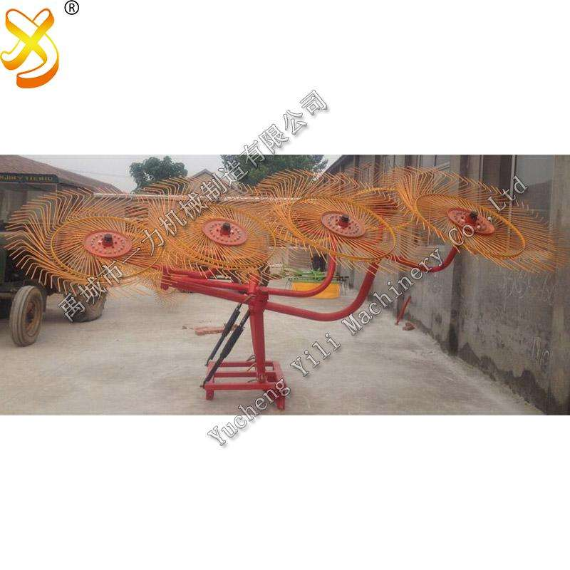 finger wheel hay Rake factory sales