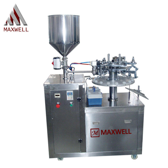facial cream tooth paste ointment pipe filling sealing machine aluminum tube filling machine