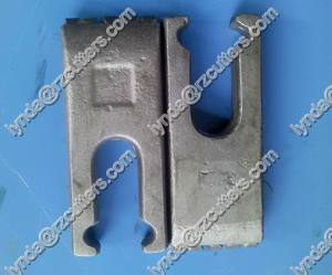 Foundation flat teeth BFZ65/replacable block /quick change bars