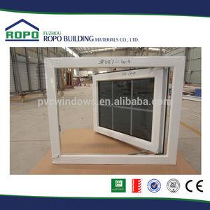 Ventana y puerta con doble vidrio, grises tintados de ventana, Veka perfil huracán impacto puerta y ventana