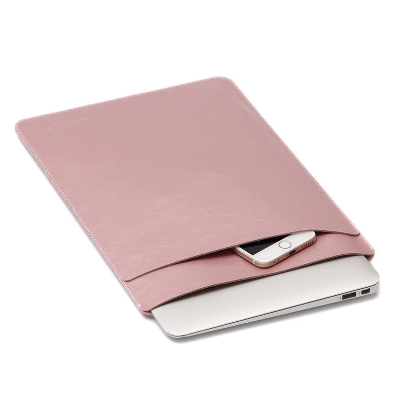 Hot Selling Groothandel PU Leather Soft Case Mouw Laptoptas voor ipad air