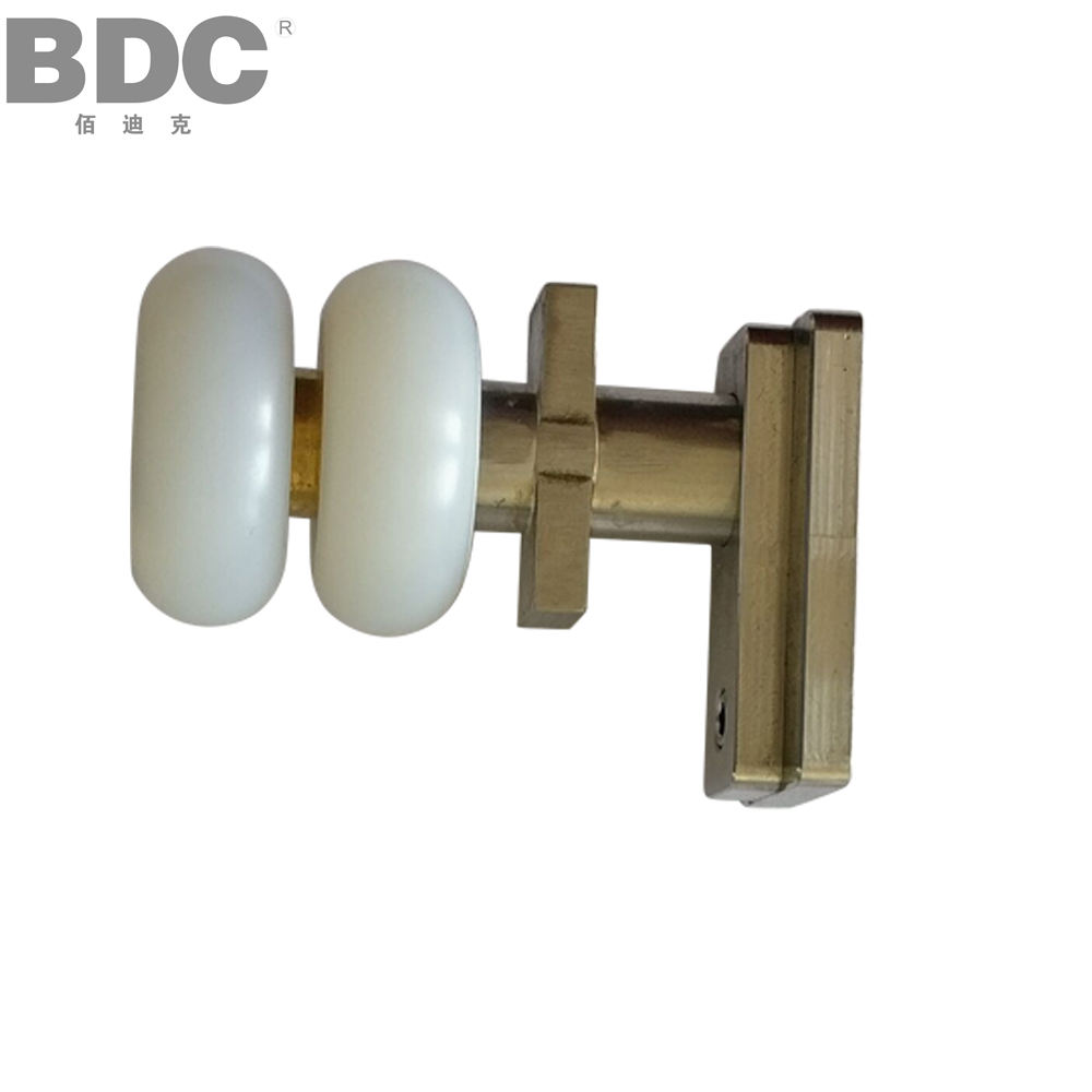 Good price plastic bearing roller pulley for glass balcony wheel