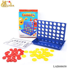 Hot line-up 4 bingo game connect chess plastic kids intelligent game