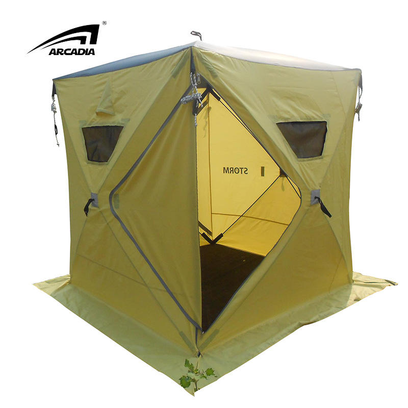 Top Quality Wholesale Outdoor Ultralight 1-2 Person Camping Tent Weatherproof Ice Fishing Tent
