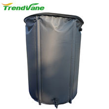 2018 hot selling collapsible heavy duty PVC plastic water tank rain water barrel 25L