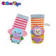 BobearToys wholesale cute boys girls baby rattle socks cheap custom baby socks oem odm infant socks