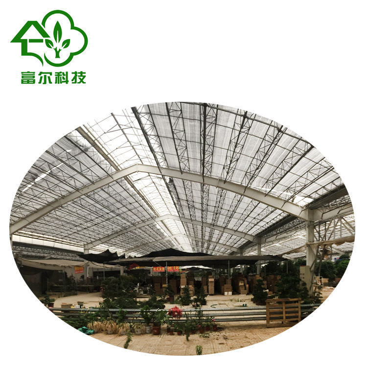Hot sale wide range multi-span greenhouse for the agriculture production